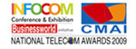 Best Telecom Data center Award  given by cmai in 2009